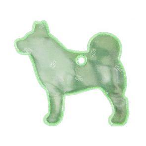 Reflexbricka hund med kullänk